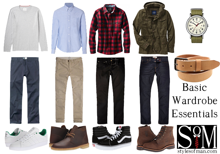 Many will tell you that the key to dressing well is a basic yet versatile wardrobe, but what exactly comprises one? Well, different people have different thoughts on what the basic men's closet holds, and that's totally fine. This is by no means an authoritative guide for what you must have to be a stylish guy. Style varies, so this guide aims to encompass a solid foundation for casual wardrobe essentials that also encourages you to build upon it and please do. This post assumes ...