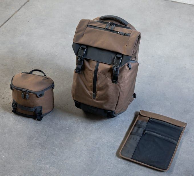 The Ultimate Modular Backpack keeps you organized for daily carry and  weekend travels.  3961945ce506f