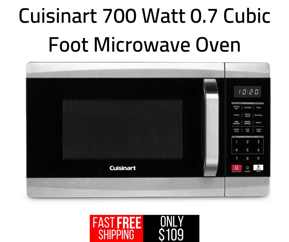 Cuisinart 700 Watt 0 7 Cubic Foot Microwave Oven Cmw 70 In 2020 Microwave Oven Microwave Frozen Veggies