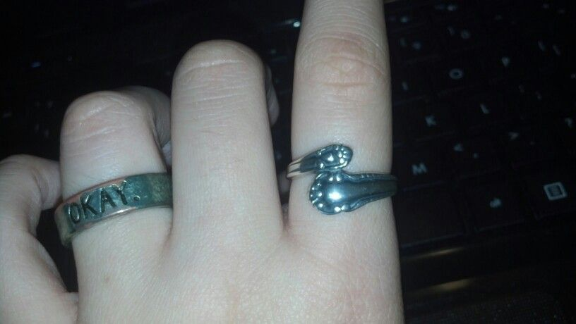 My spoon ring c: