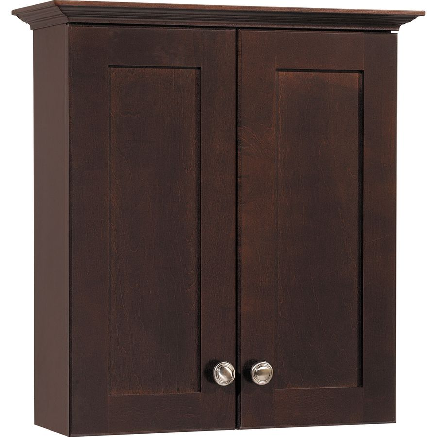 Shop Style Selections Longshire Espresso Storage Cabinet