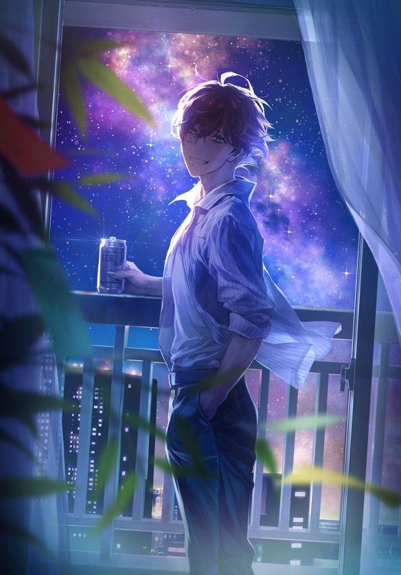 Cute Anime Boy Wallpaper 4k