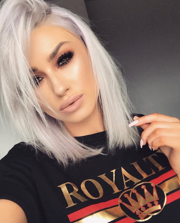 Hair Color White Blonde Hair Hair Makeup Hair Inspiration