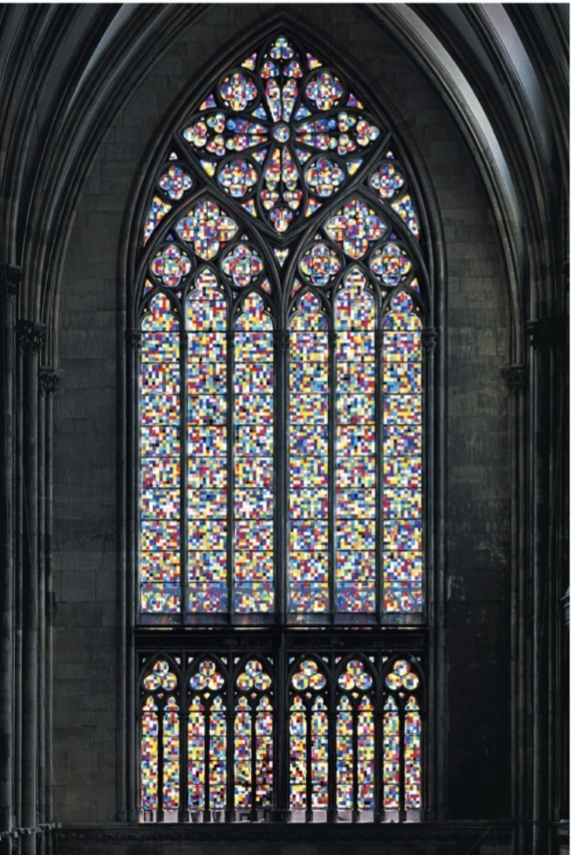 Many Colored Glass Gerhard Richter Cathedral Windows Cologne Cathedral