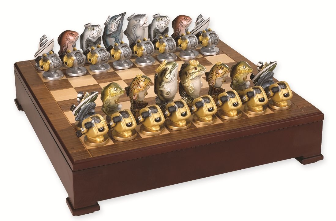 Unique Chess Set Interior Accessories Ideas Using Unique Chess Sets Design Fish