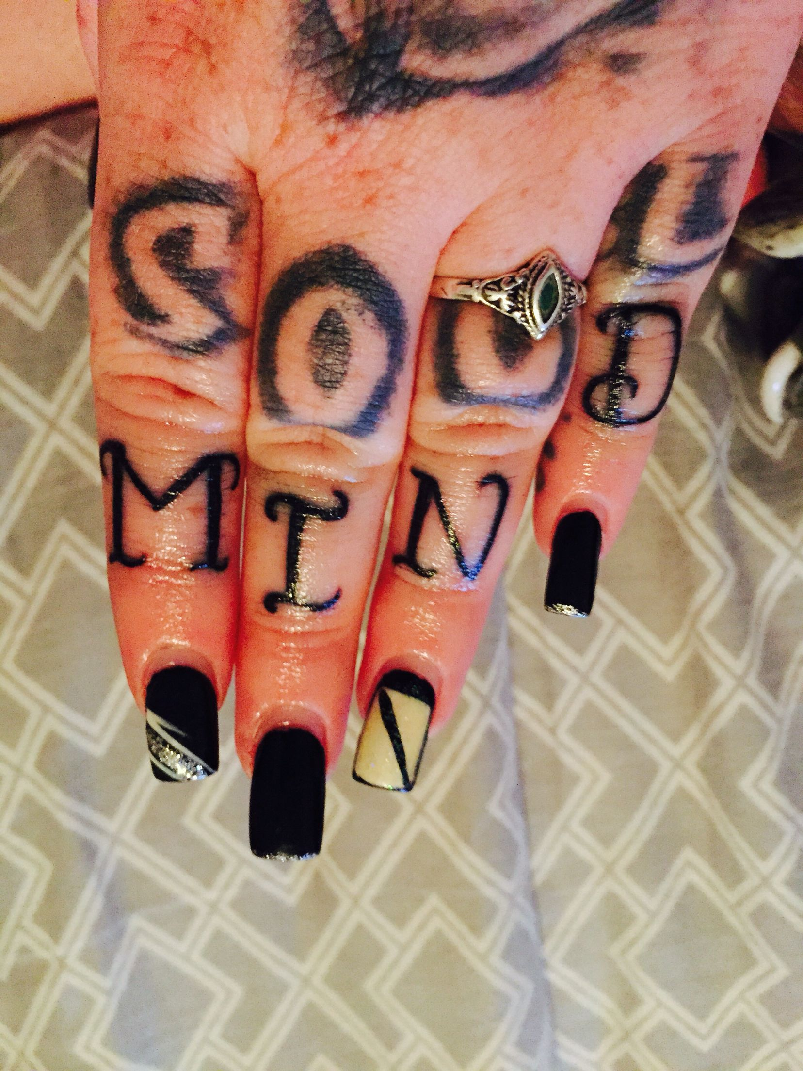 Girl knuckle tattoo ideas knuckles tattoos  my tattoos  pinterest  knuckle tattoos and tattoo