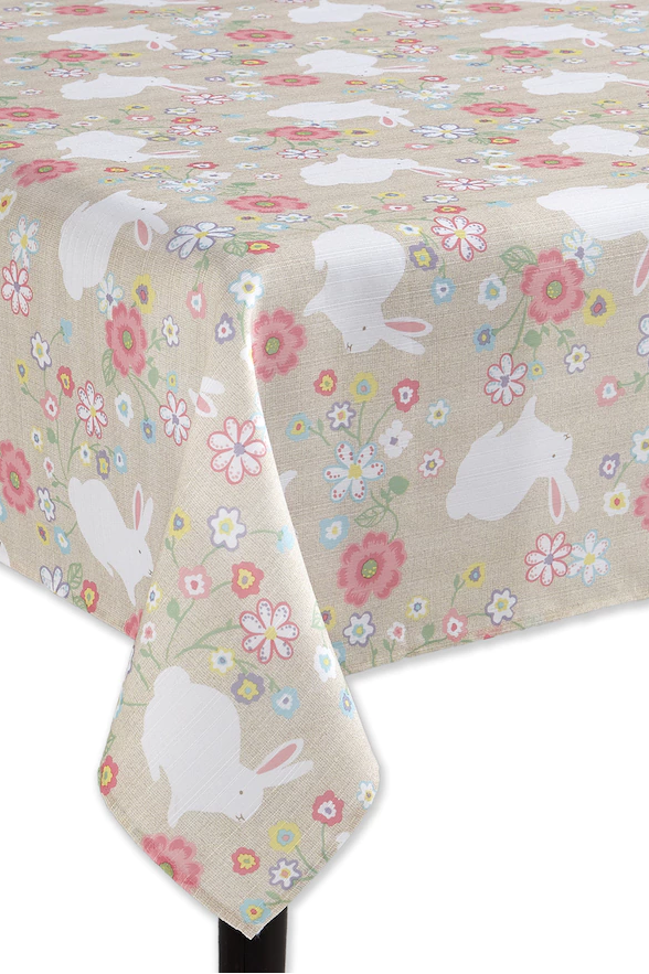 10 Festive Easter Table Runners And Tablecloths For Your Holiday Brunch Easter Table Runners Easter Table Easter Tablecloth