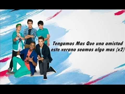 Hola!! hoy les traigo el 1ER Lyrics video de la canción Mas Que una amistad de la serie Violetta de Disney Channel, espero que les guste :D No se olviden de ...