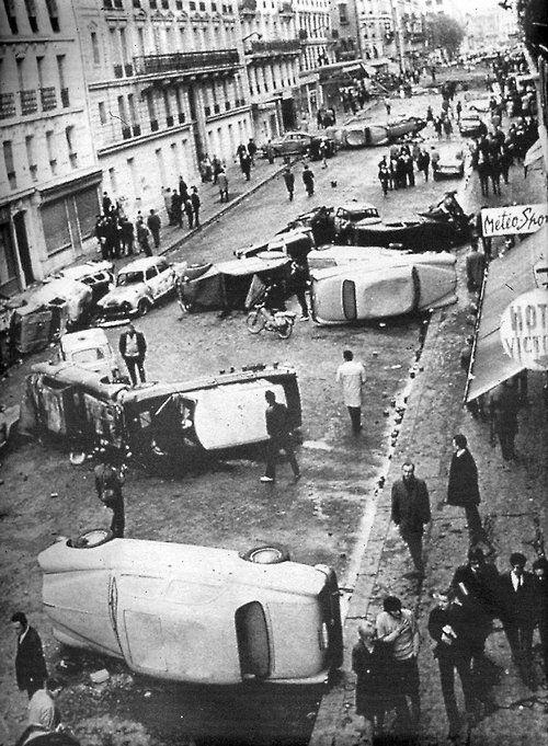 whattheendoftheworldlookedlike: Parigi, 1968.