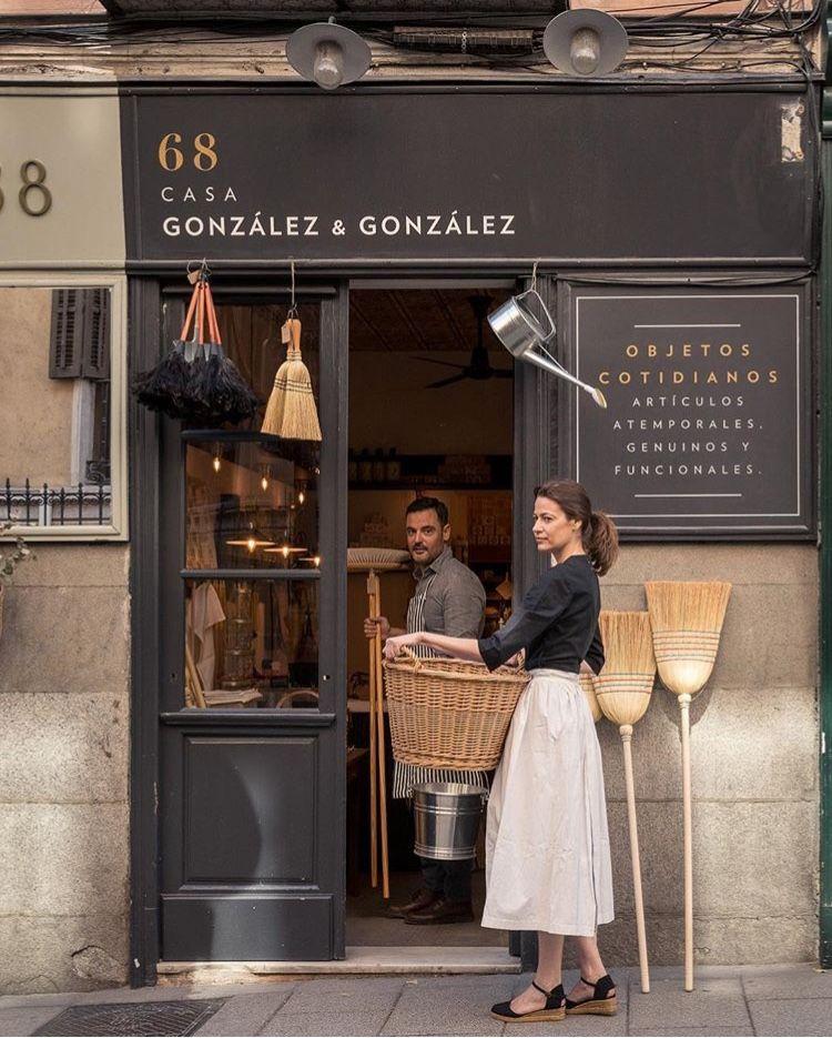 Casa González González Madrid Cafe Design Store Fronts Coffee Shop Design