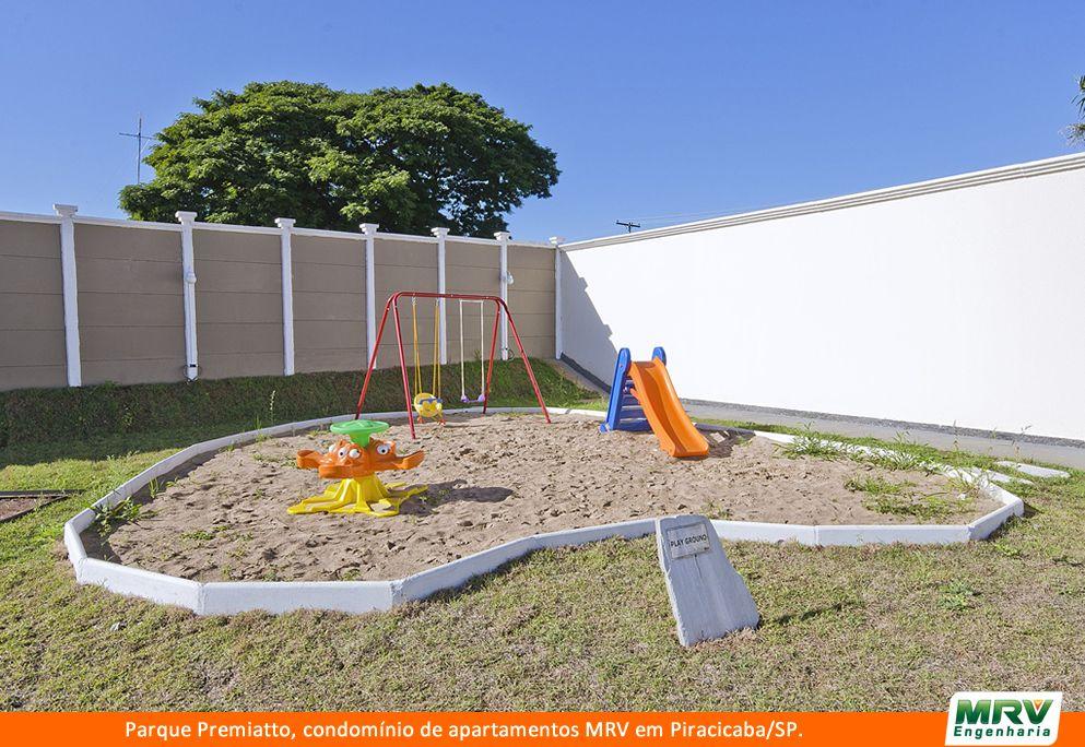 Paisagismo do Premiatto. Condomínio fechado de apartamentos localizado em Piracicaba / SP.