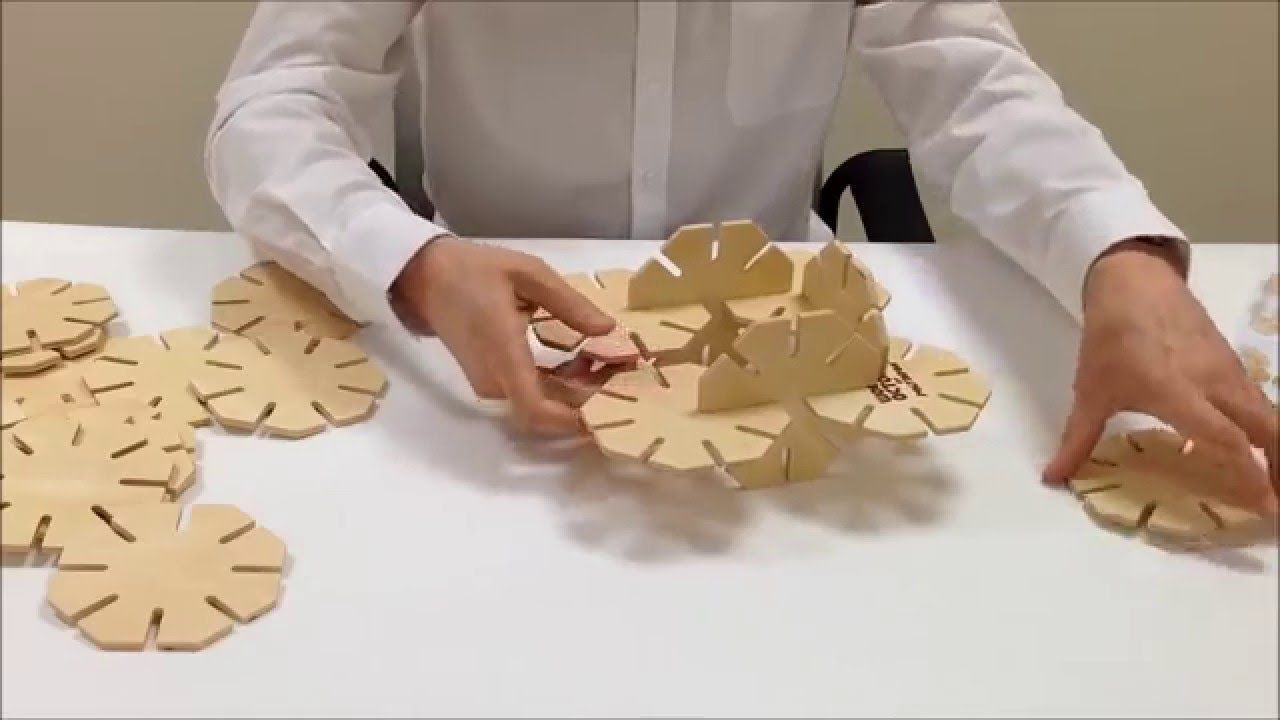This set of 20 unique wooden construction shapes can be used to create various models such as a person, a dog or a tower. Made from high quality plywood in a beautiful natural finish, the pieces easily slot together. Wooden Octoplay will challenge the imagination and dexterity of children from 3 years upwards. Each piece measures 120mm x 120mm x 6mm and is packaged in a sturdy brown cardboard box. A colour instruction guide is included.