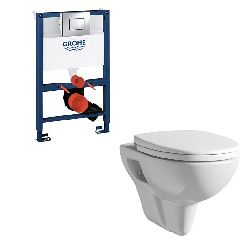 Orchard Eden Wall Hung Toilet Grohe Frame And Skate Cosmopolitan