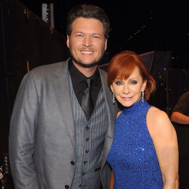 Reba & Blake-I like watching him on The Voice. I've always liked Reba's TV sitcom on Lifetime (re-runs now).