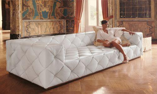 Oversized Sofa White I Need This Omg