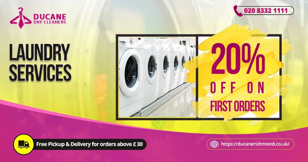 Ducane dry cleaners are offered one of the best laundry