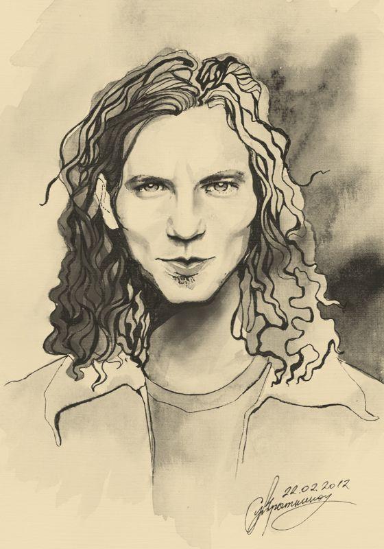 Eddie Vedder Art Google Search Elfos