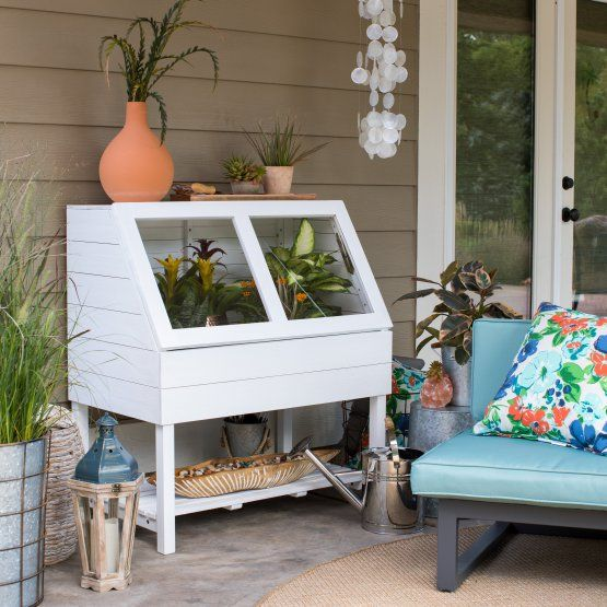 Small Outdoor Wedding Ideas On A Budget: Belham Living Honey Grove Wood Greenhouse Box