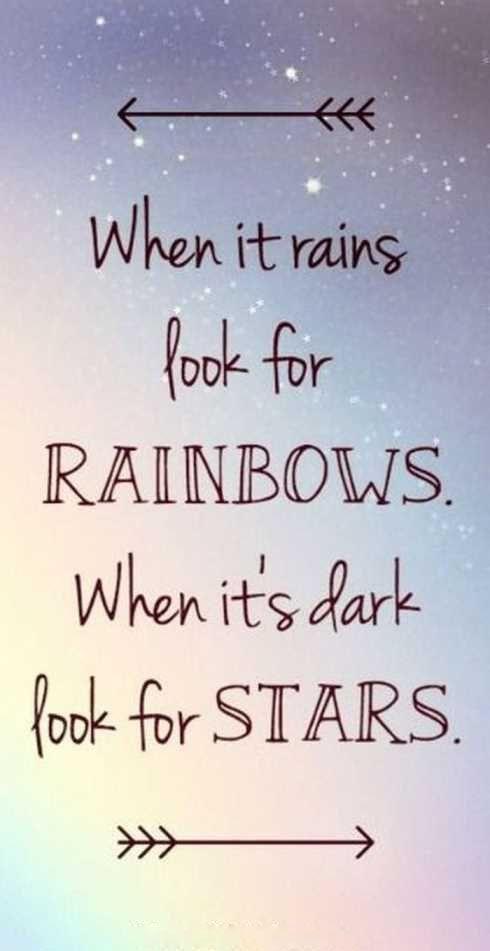 Photo of Wenn es regnet, suchen Sie nach Regenbogen … #strongisbeautiful #inspirational #momquotes …