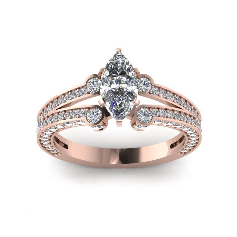 30 ideias de anéis de noivado completamente deslumbrantes   jóias ... 573d92927b