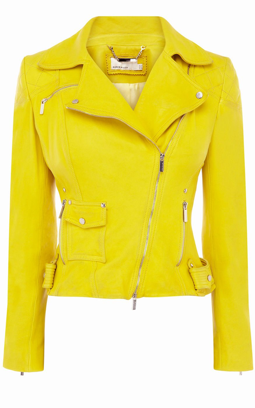 81b50ce94 Limited edition leather jacket | Karen Millen (JQ080) | JUST SOME ...