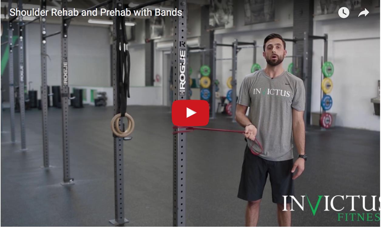Shoulder Strengthening Exercises for Rehab or Prehab!