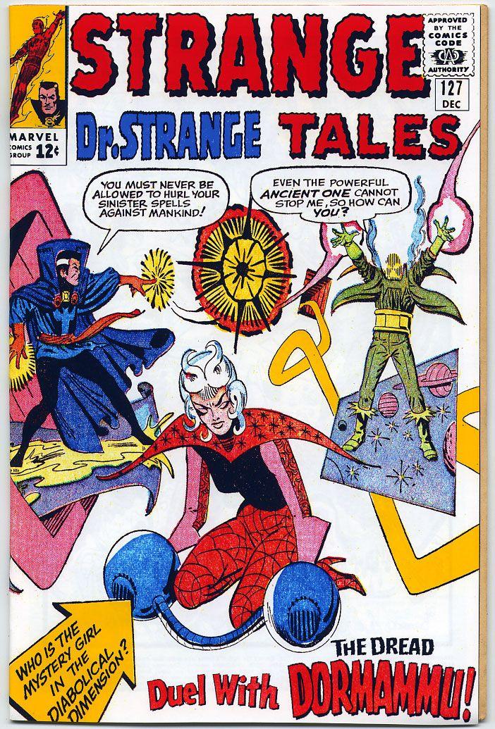 The Doctor Strange Custom Covers Project - Strange Tales #127