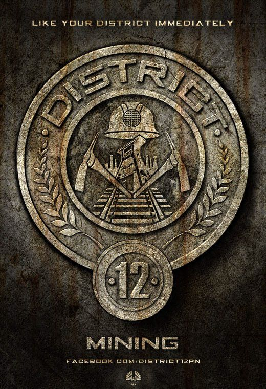 This Is The Picture Of The Symbol Of District 12 Where Peeta Grew