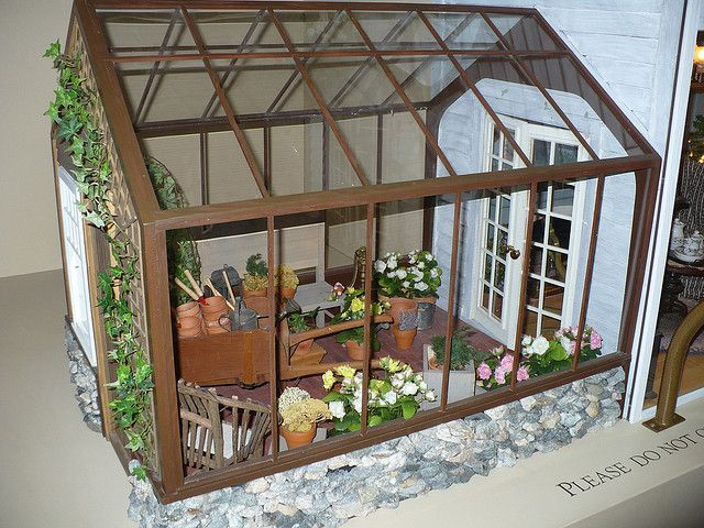 tasha tudor dollhouse by The Calico Cottage, via Flickr