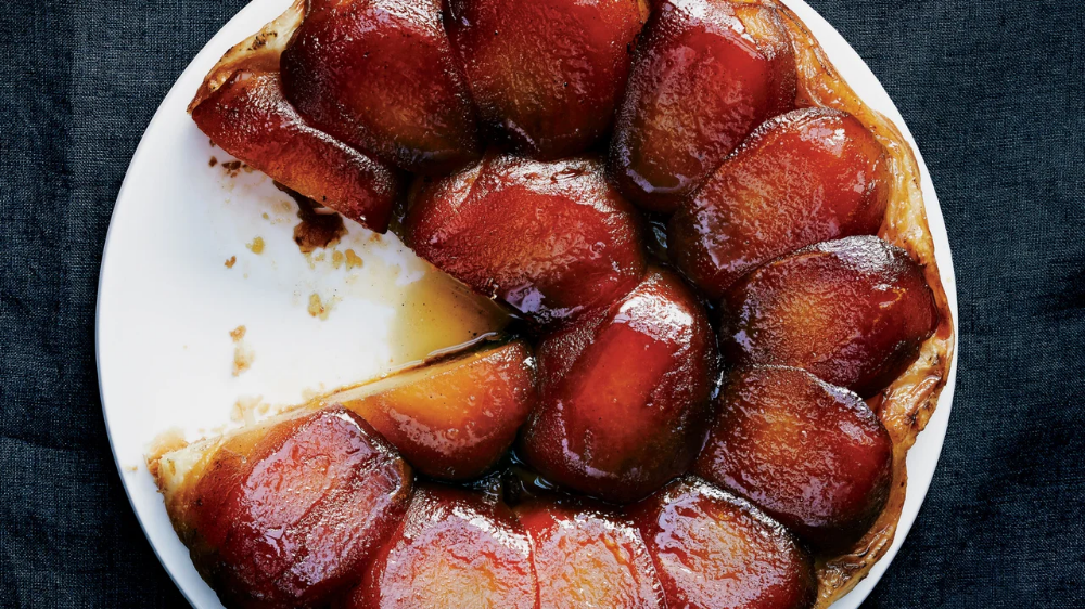 Photo of Tarta Tatin de vainilla