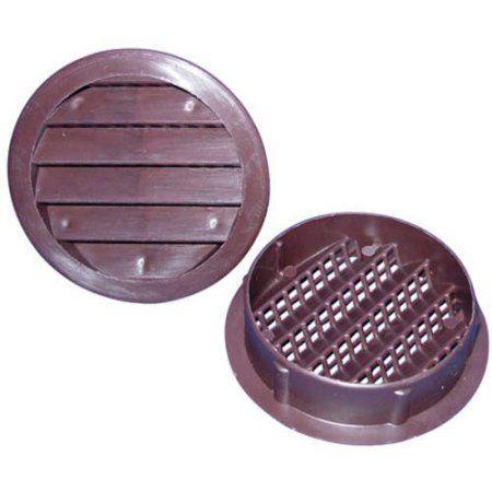 Home Improvement Polypropylene Plastic Brown Finish Display Case