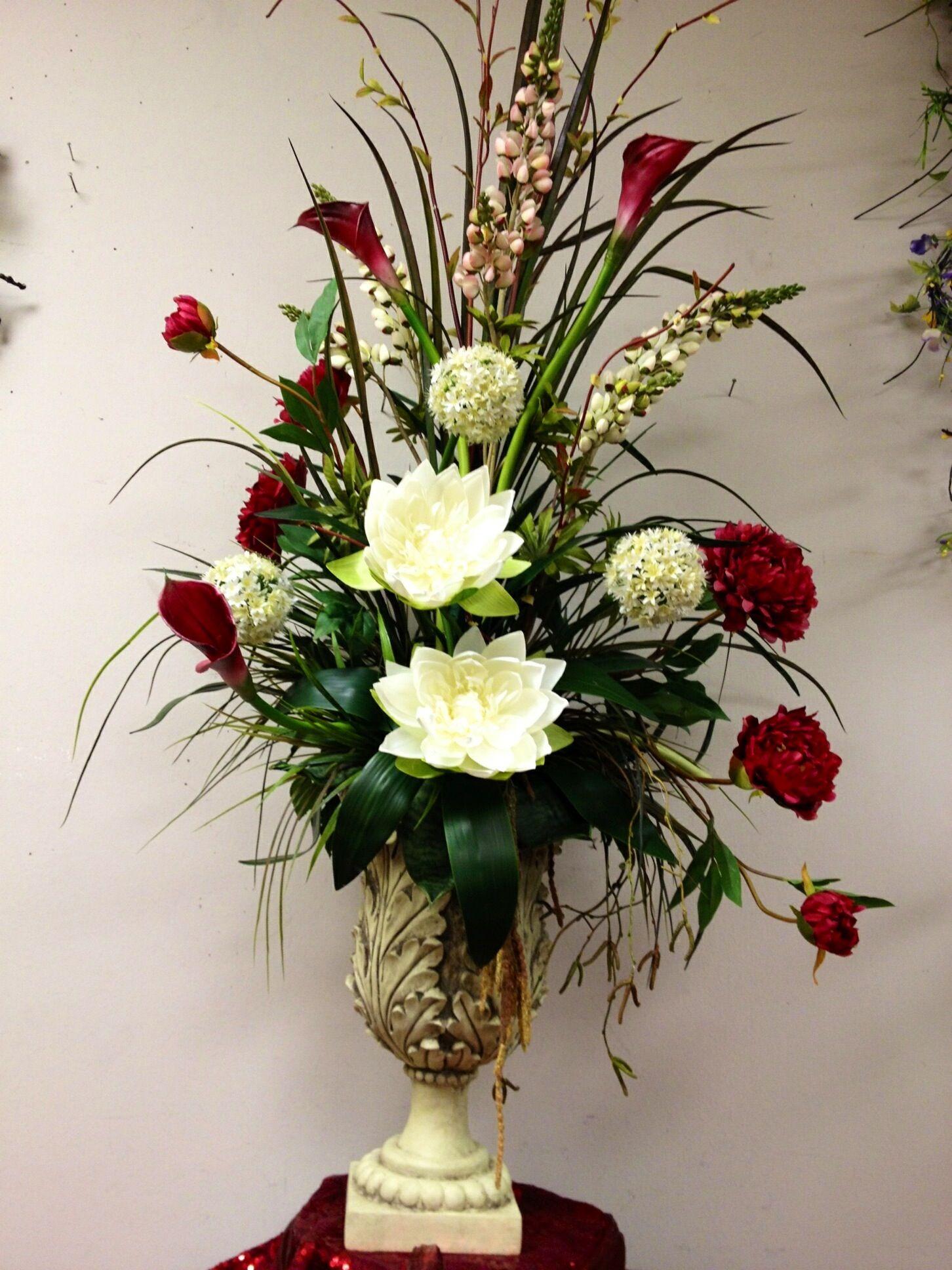 Water lilies mixed floral arrangement Artificial flower