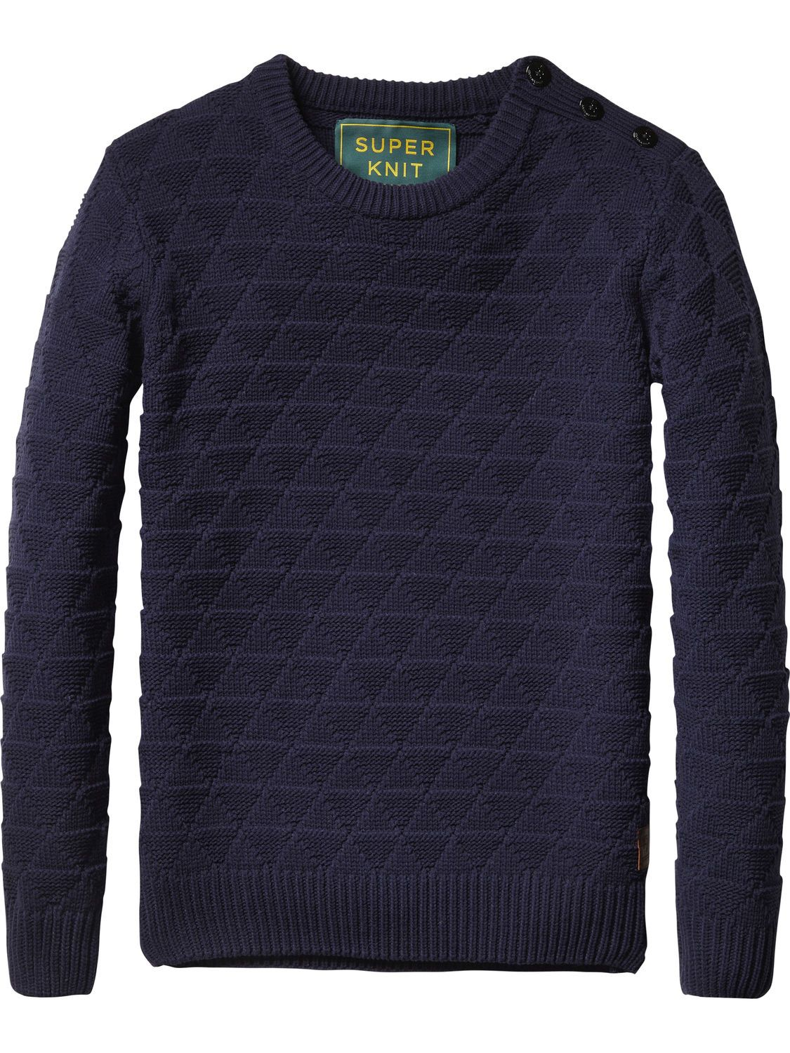Cable Knit Pullover   Pullover   Men's Clothing at Scotch & Soda