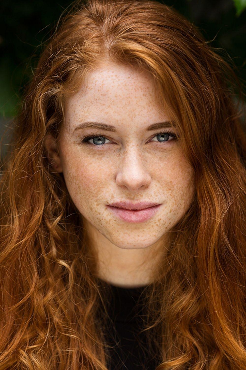 Redhead pale plump