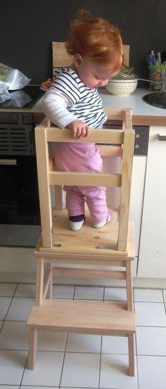 mein helferchen turm learning tower kinderzimmer. Black Bedroom Furniture Sets. Home Design Ideas