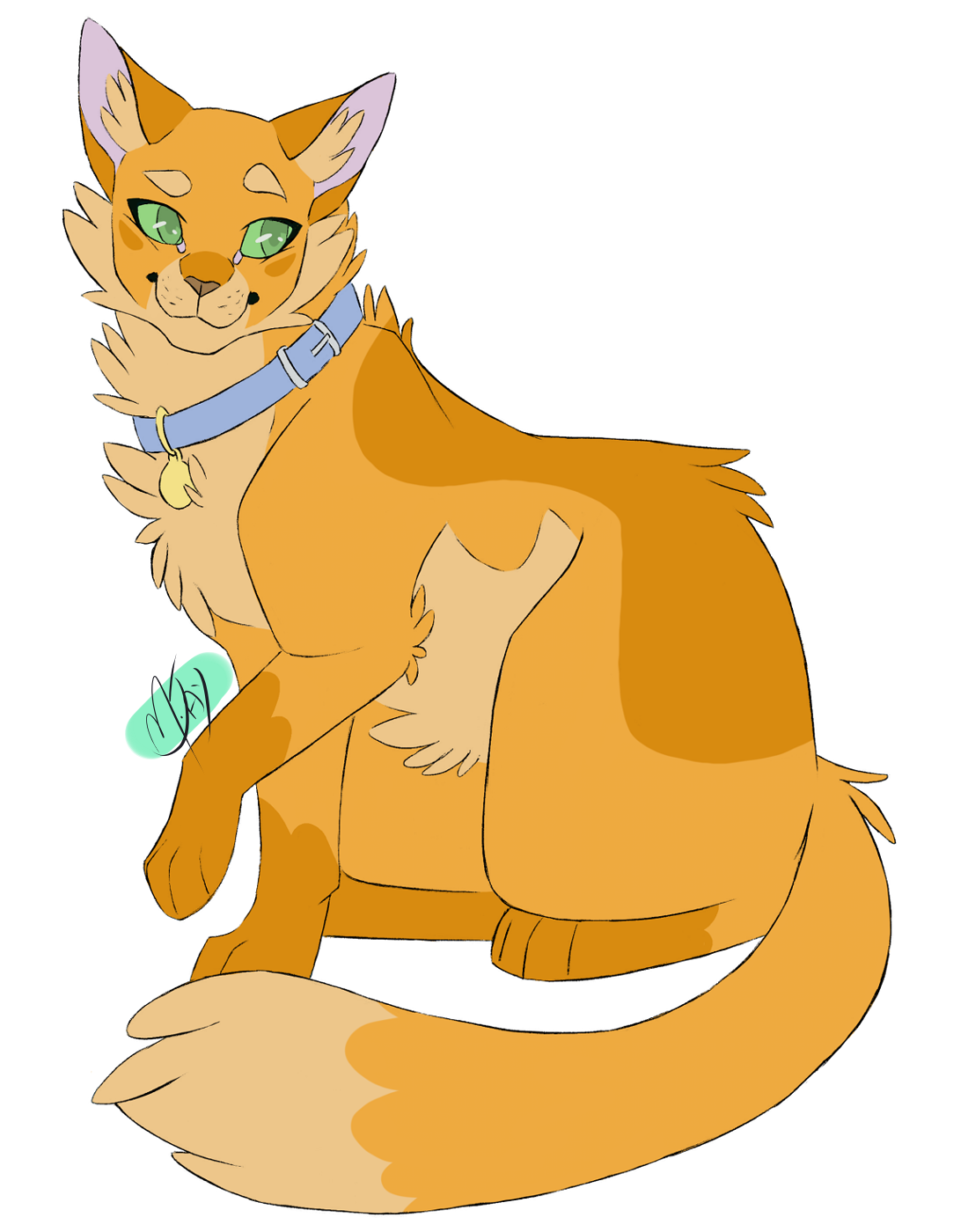 100 Warrior Cats Challenge 38 - Jake Awww this gay furball