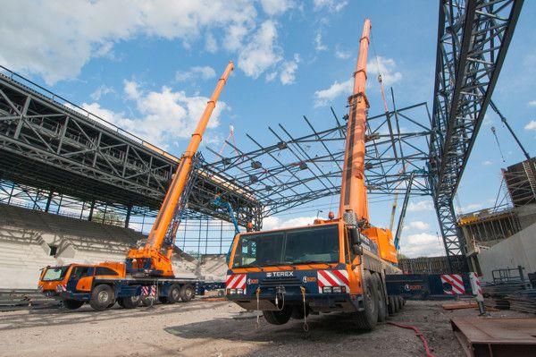 Terex Cranes Tdkv Crane Lift Crane Construction Equipment
