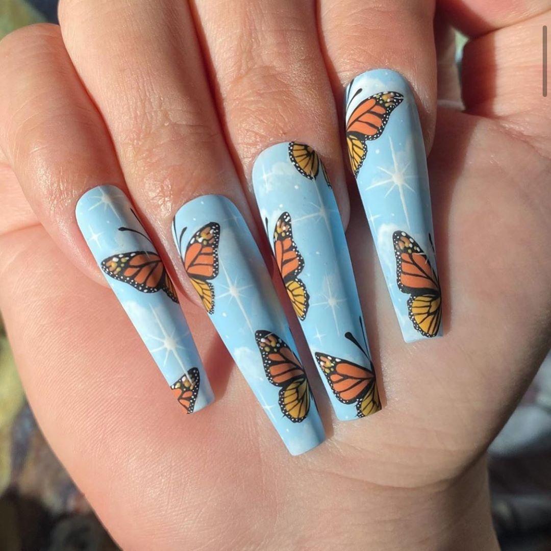 Pin by Josiana on nail tutorial & Art | Coffin nails long