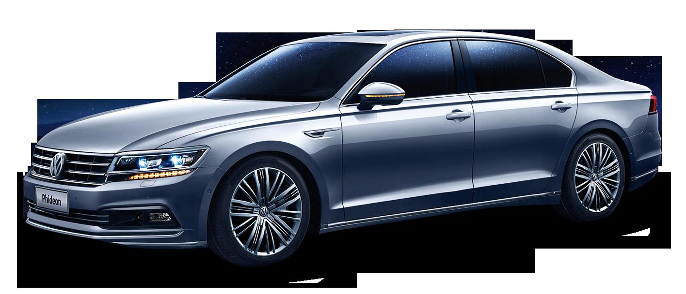 Volkswagen Phideon Grey Car Png Image Grey Car Volkswagen Car