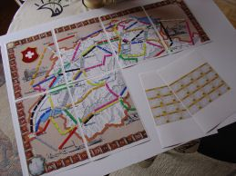 link to tons of print your own ticket to ride boards from around the
