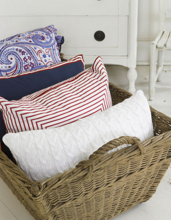 pillow cases. Like this for the idea of putting pillows in a basket on soap basket, wall basket, quilt basket, towel basket, toiletries basket, blanket basket, wood basket, hat basket, white basket, reading basket, book basket, bed basket, paint basket, bath basket,