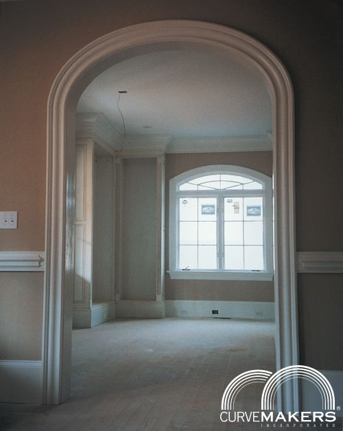 Interior Arches Mouldings : Archway door casing how to make arched window trim