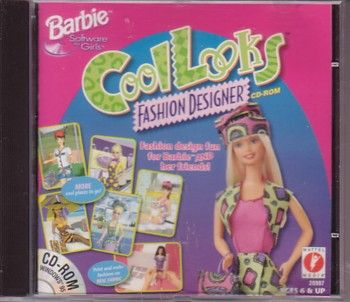 This Was One Of My First Computer Games On My Windows 98 Computer Hehe Fashion Designer Game Barbie Games Barbie