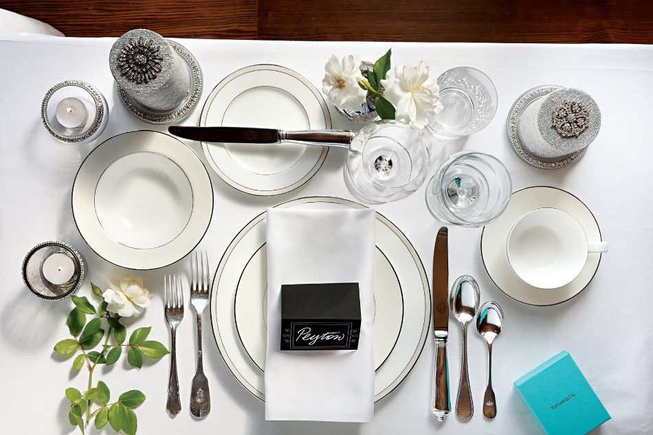 How To Set Your Dining Table For An Elegant Dinner Modern Dining