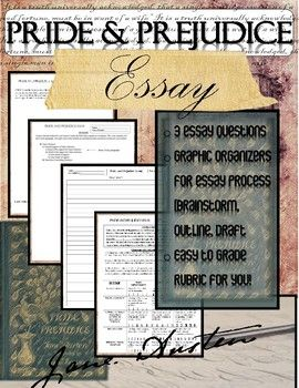 Perseverance Essays Pride And Prejudice Essay This Essay Packet Could Research Paper Essay Topics also Online Essay Writers Pride And Prejudice Novel Study Essay Writing With Rubric  Novels  What Is America Essay