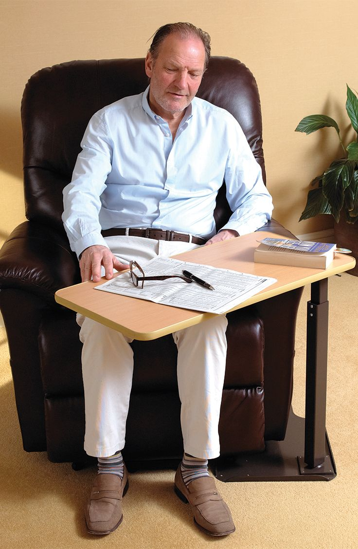 The Universal Table Is Ideal For Use With A Riser Recliner