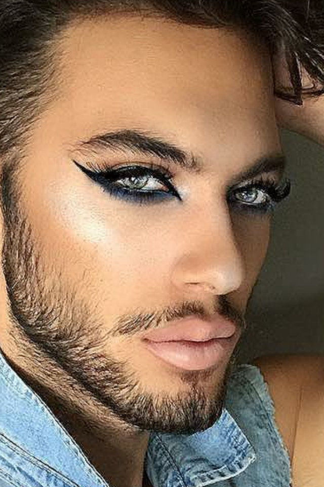 Pin by Karine Blanchet on Maquillage Pinterest Men
