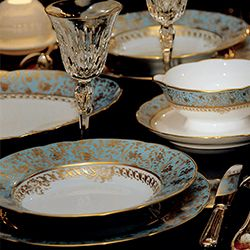 Amazing Dinnerware Bernardaud EDEN TURQUOISE · Fine China PatternsFine China  DinnerwareTable SettingsPlace ... Design Ideas