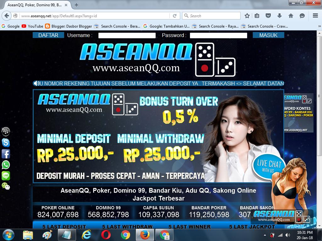 Aseanqq Net Poker Domino 99 Bandar Kiu Adu Qq Sakong ...