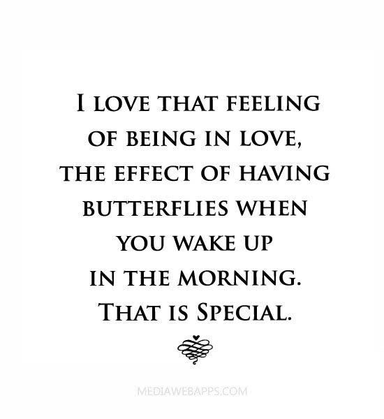 the feeling of being in love quotes